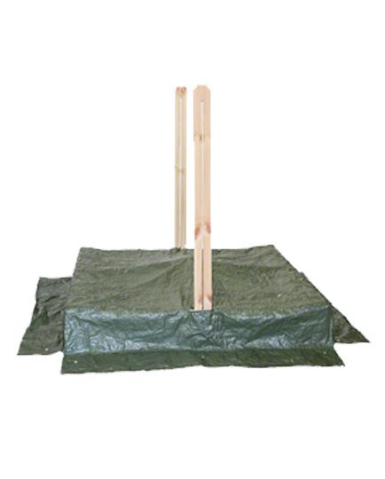 planen gr n f r sandkasten sandkastenabdeckung abdeckplane. Black Bedroom Furniture Sets. Home Design Ideas